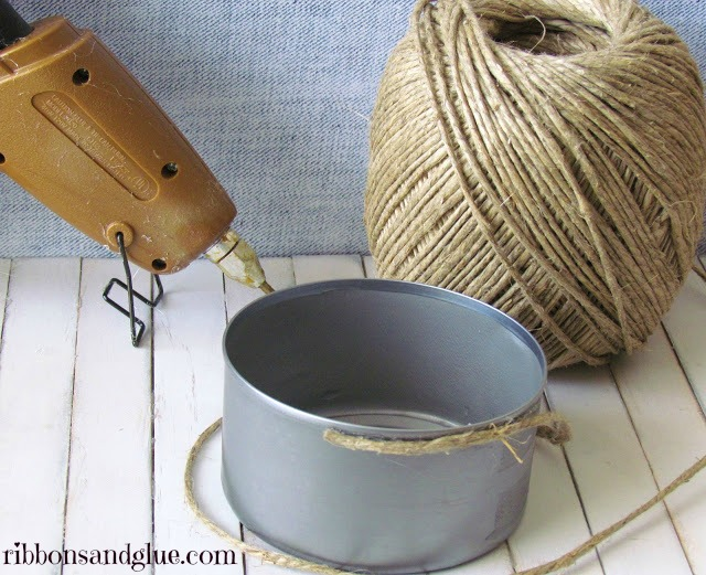 How to wrapped a can in Hemp Cord