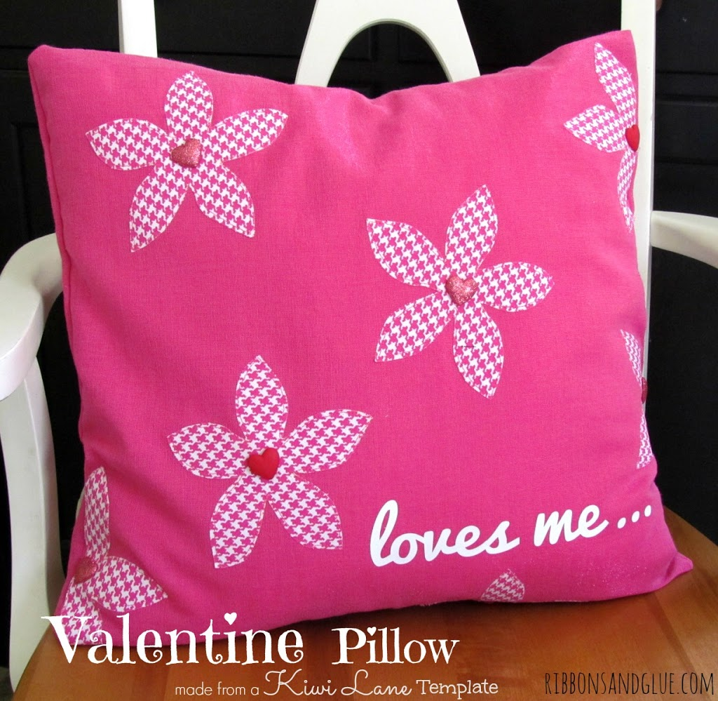Loves Me Valentine Pillow