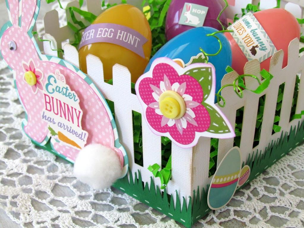 Picket Fence Easter Basket