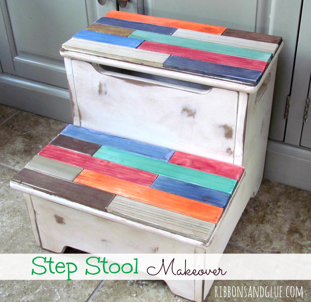 Step Stool Makeover