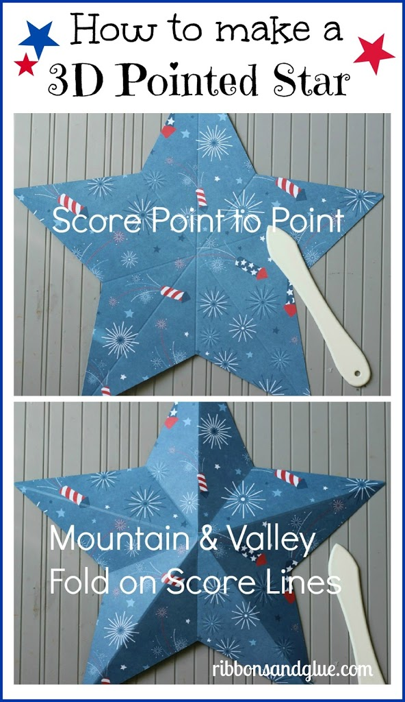 How to make a 3D Stars using a Score Board