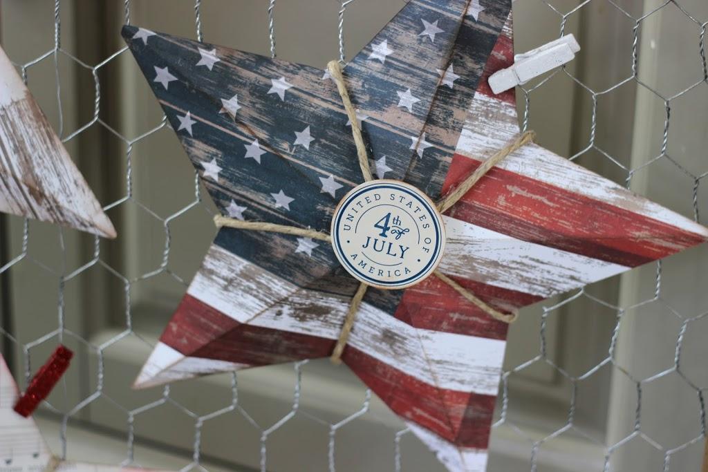 Pebbles Americana Card Stock Shapes