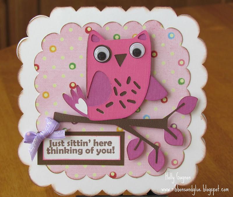 Hoos Birthday Owl Card