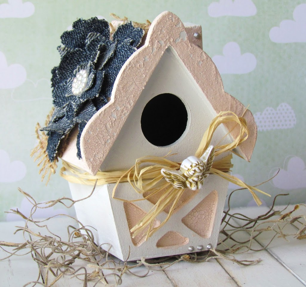 Shabby chic birdhouse for Shabby chic instagram
