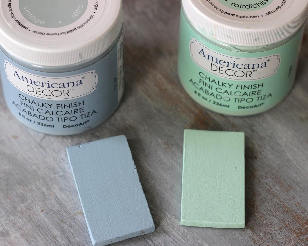 DecoArt Chalky Finish Paints.