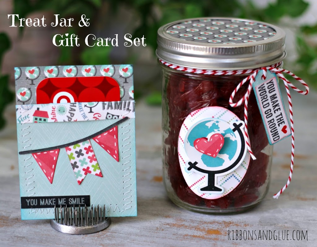 Easy Treat Jar And Gift Card Set